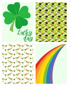 St. Patrick's Day Printable Pocket Cards