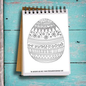Free Printable Easter Egg Color Pages