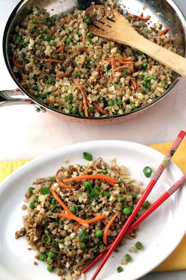 Weight Watchers faux fried rice