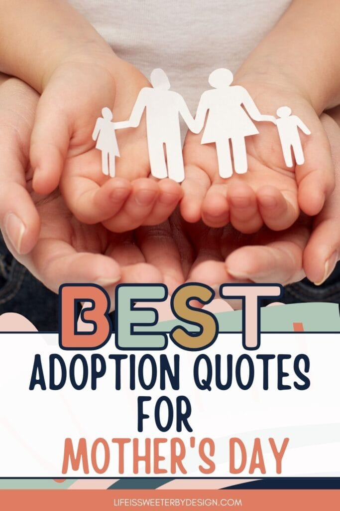 adoption quotes for Mother's Day