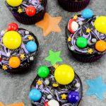 DIY galaxy cupcakes