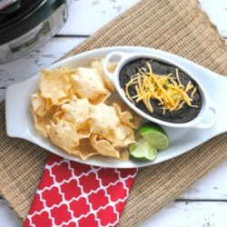 Weight Watchers black bean dip