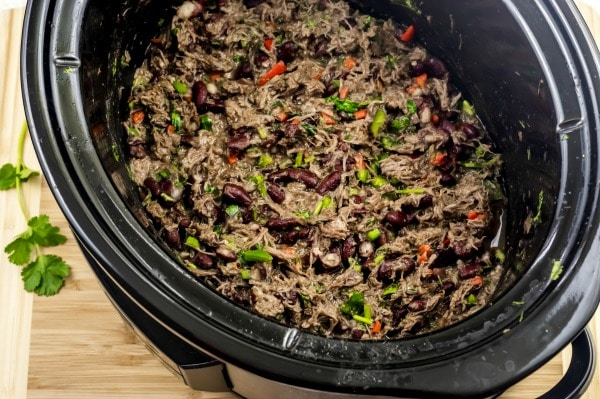 steak tacos in the crock pot