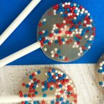 easy DIY patriotic lollipops