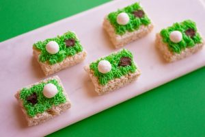 Golf Cereal Treats for Dad