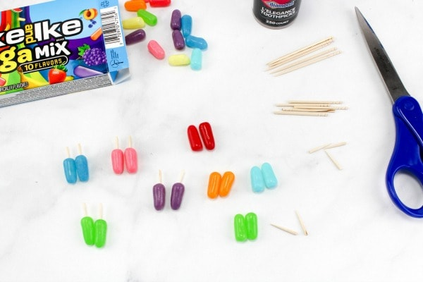 how to make mini popsicle toppings for cupcakes