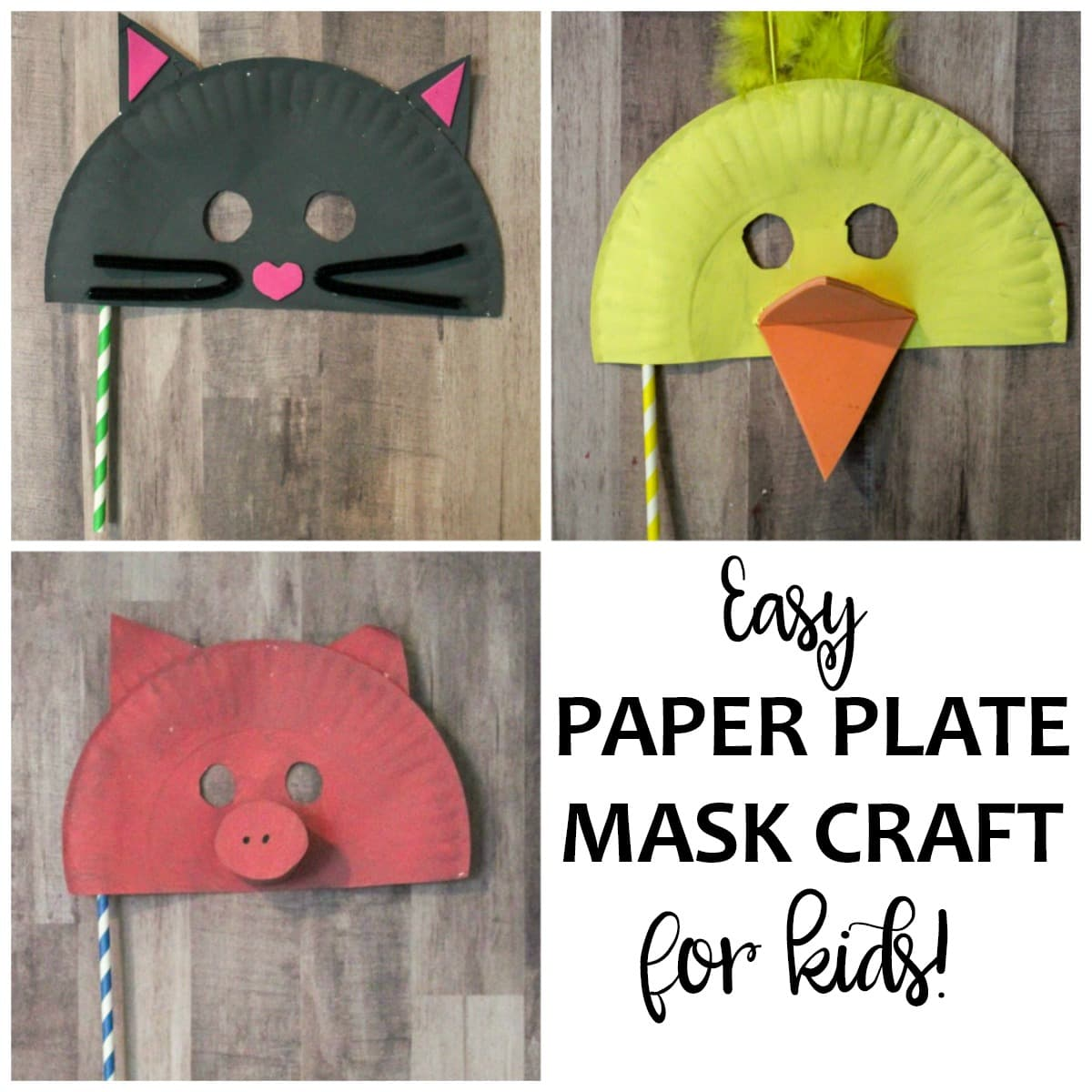 sc 1 st  Life is Sweeter By Design & Paper Plate Mask Craft for Kids - Life is Sweeter By Design
