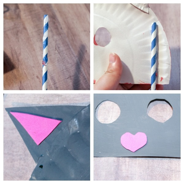 how to make a paper plate cat mask & Paper Plate Mask Craft for Kids - Life is Sweeter By Design