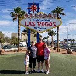 family vacation in Las Vegas Nevada