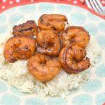 soy sauce and honey glazed shrimp