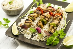 Weight Watchers Grilled Cajun Chicken Kebobs