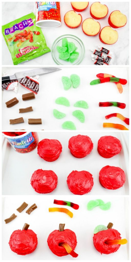 supplies needed for apple cupcakes