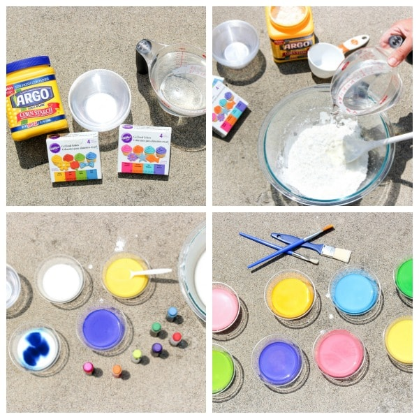 supplies needed for sidewalk chalk paint