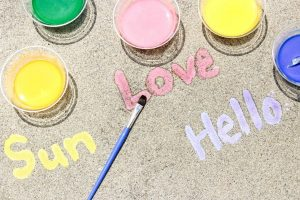 DIY Sidewalk Chalk Paint for Summer Time Fun
