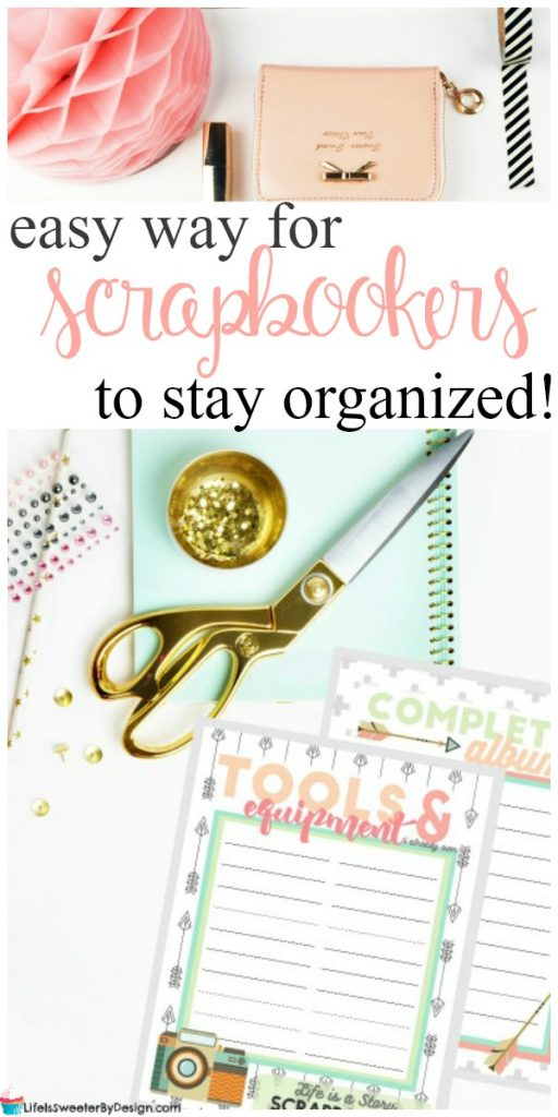 A Scrapbook Planner Helps Me Get More Done Life Is Sweeter By Design
