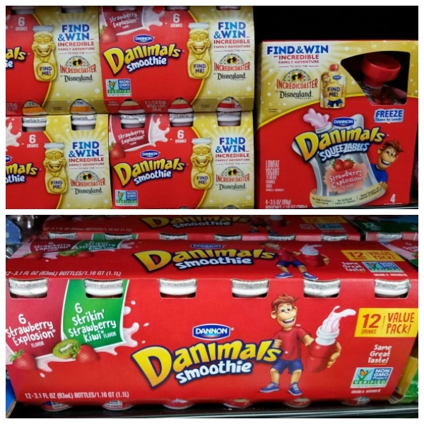 Danimals make great snacks