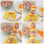 how to make Pineapple Chicken Skewers