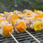 Pineapple Chicken Skewers with Polynesian Sauce