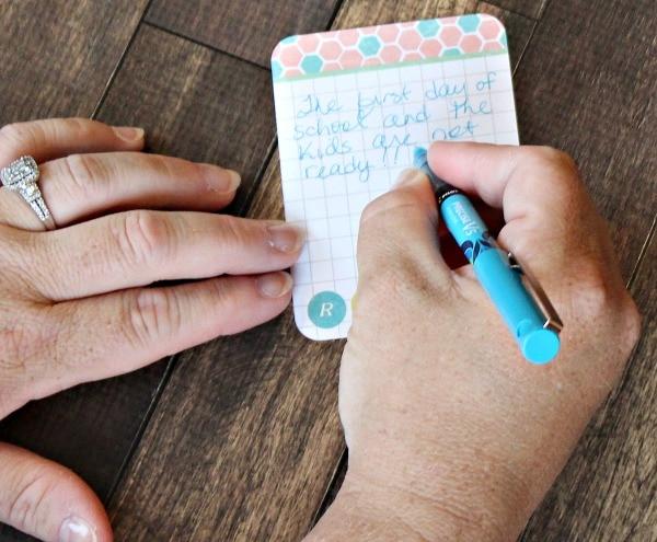 handwritten journaling