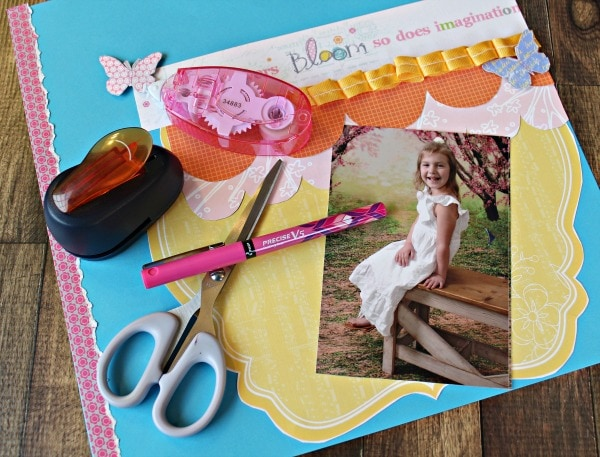 journaling by hand in scrapbooks