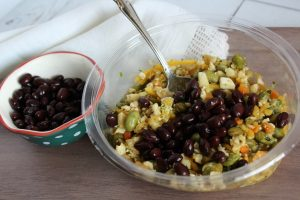 veggie filled lunch idea