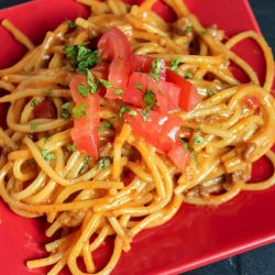 taco spaghetti recipe the whole family will love