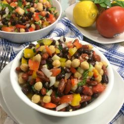 Weight Watchers recipe for Three Bean Salad