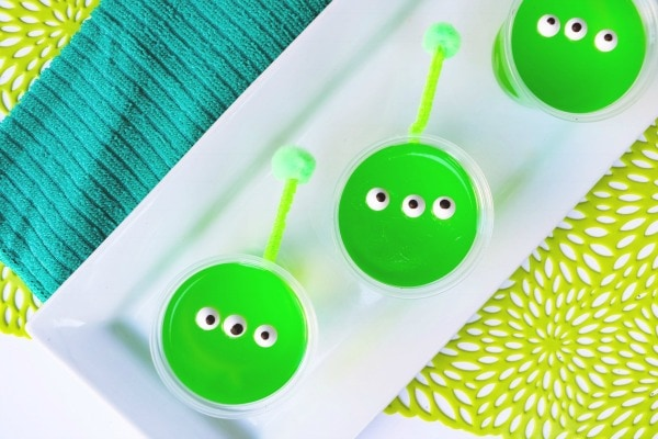 quick and easy jello cup snacks alien