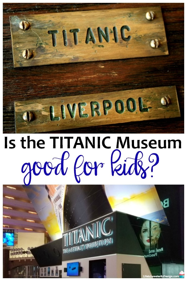 Is the Titanic Museum good for kids? It is a common question and there are several things to consider before you visit the Titanic Museum!