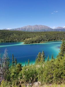 Emerald Lake in Yukon Territory