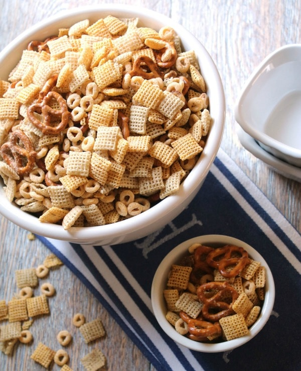 healthier chex mix recipe