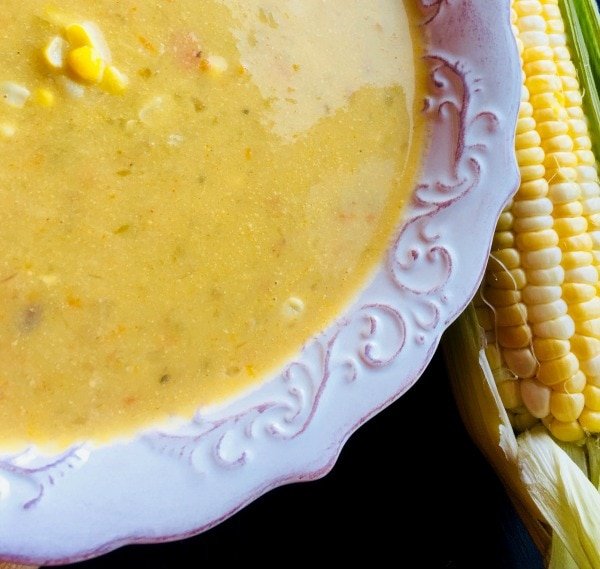 healthy corn chowder recipe