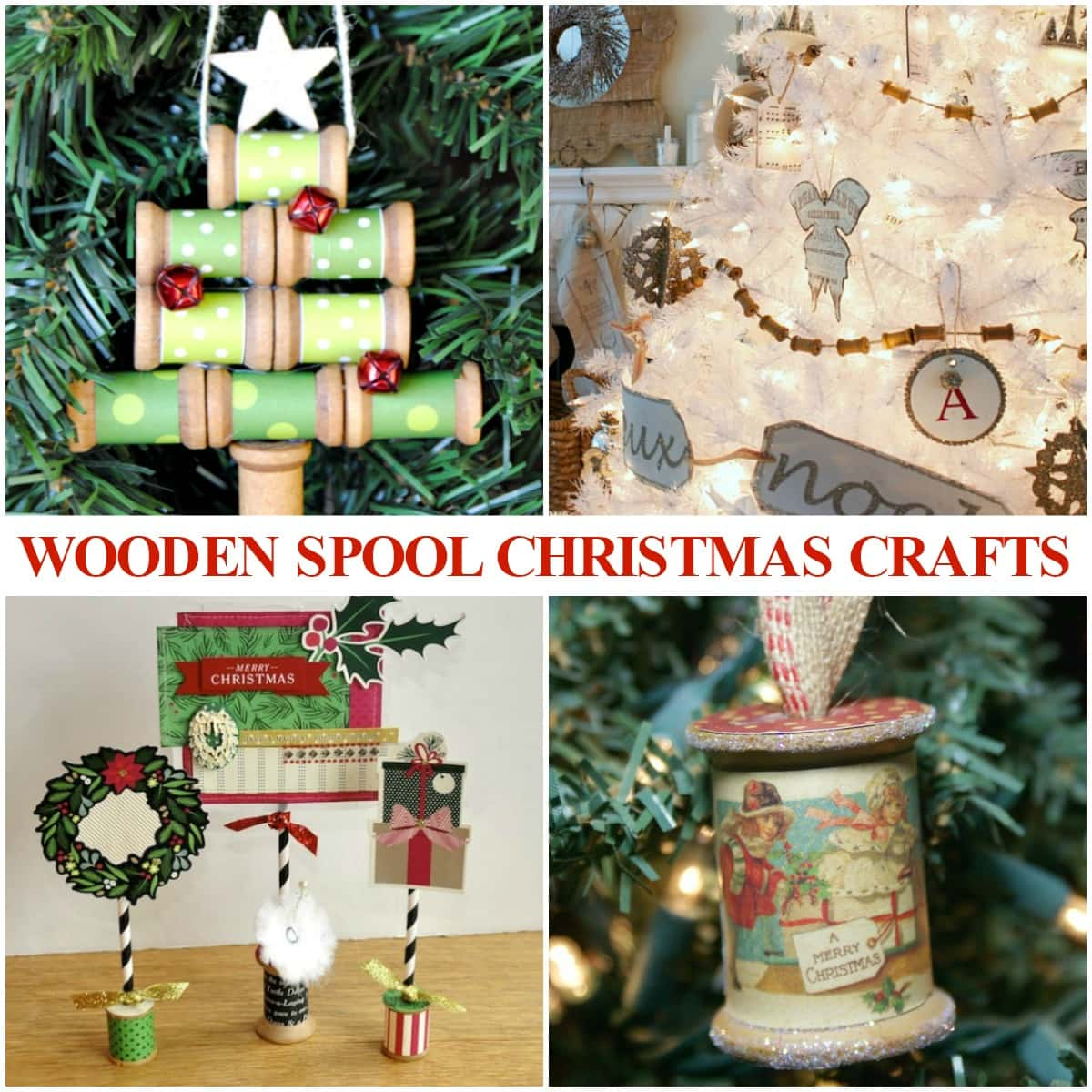 Wooden Spool Craft Ideas For Christmas Life Is Sweeter By Design