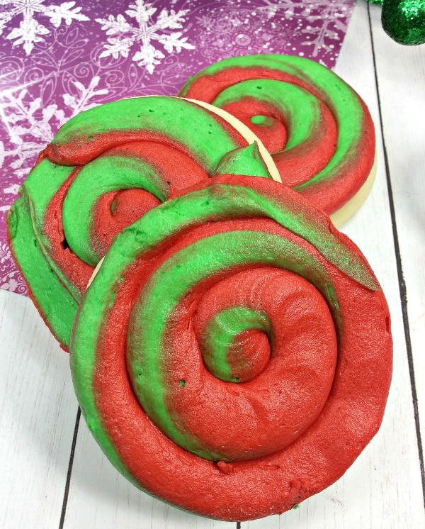 Christmas Swirl cookies