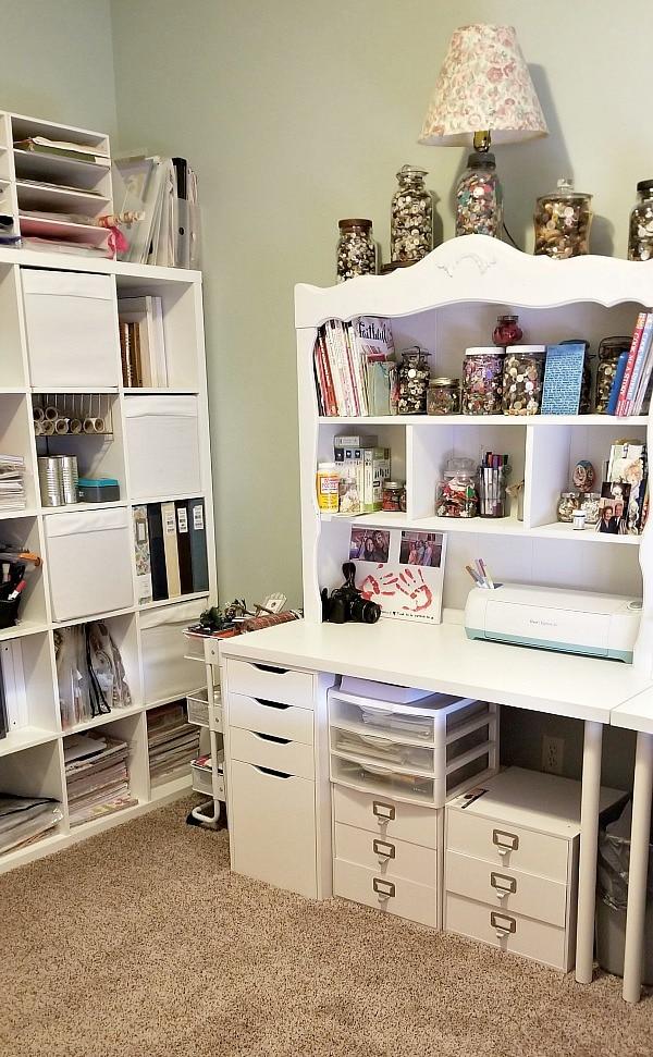 scrapbooking room remodel