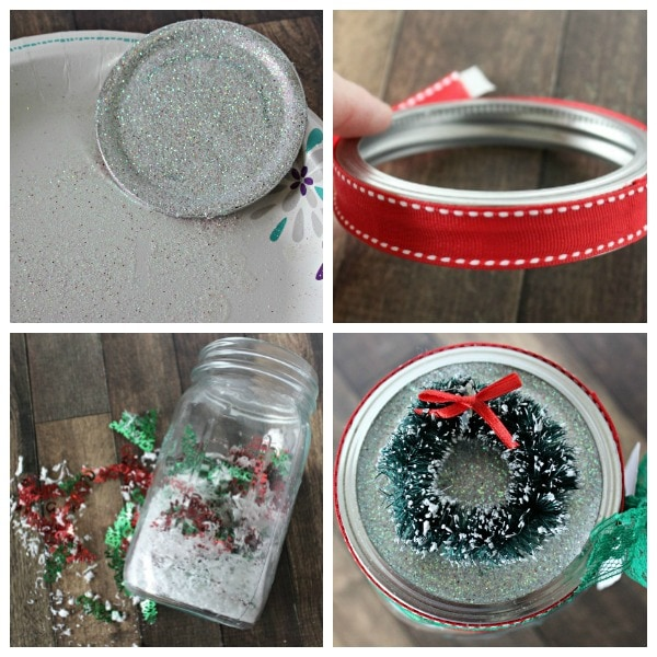 how to make a Christmas jar gift