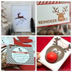 free printable reindeer crafts