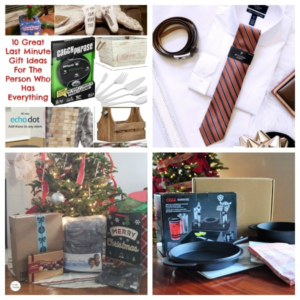 collage of gift guides