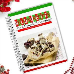 holiday cookbook for Weight Watchers