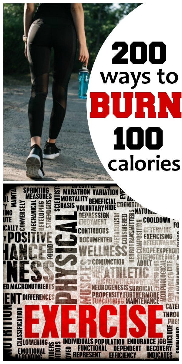 200 Ways to Burn 100 Calories