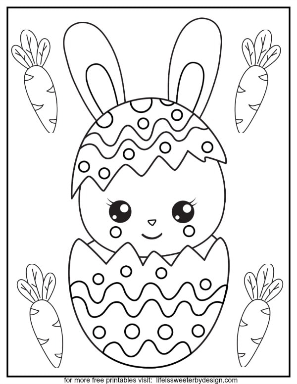 free printable Easter color pages