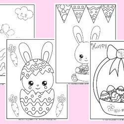 Easter Color Pages