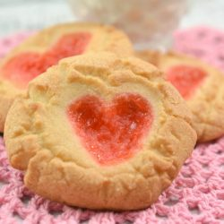 Gummy Bear Heart Cookies