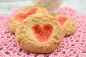 Gummy Bear Heart Cookies