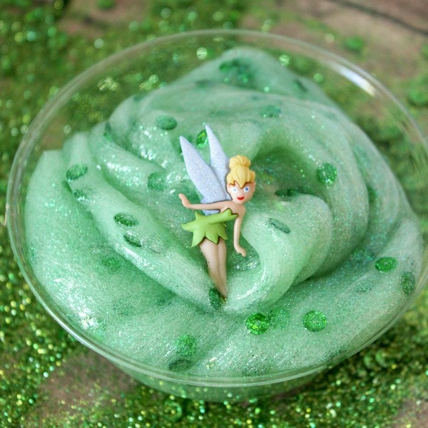 sparkly green slime recipe