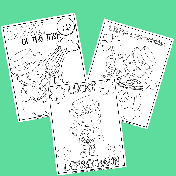 Leprechaun Color Pages