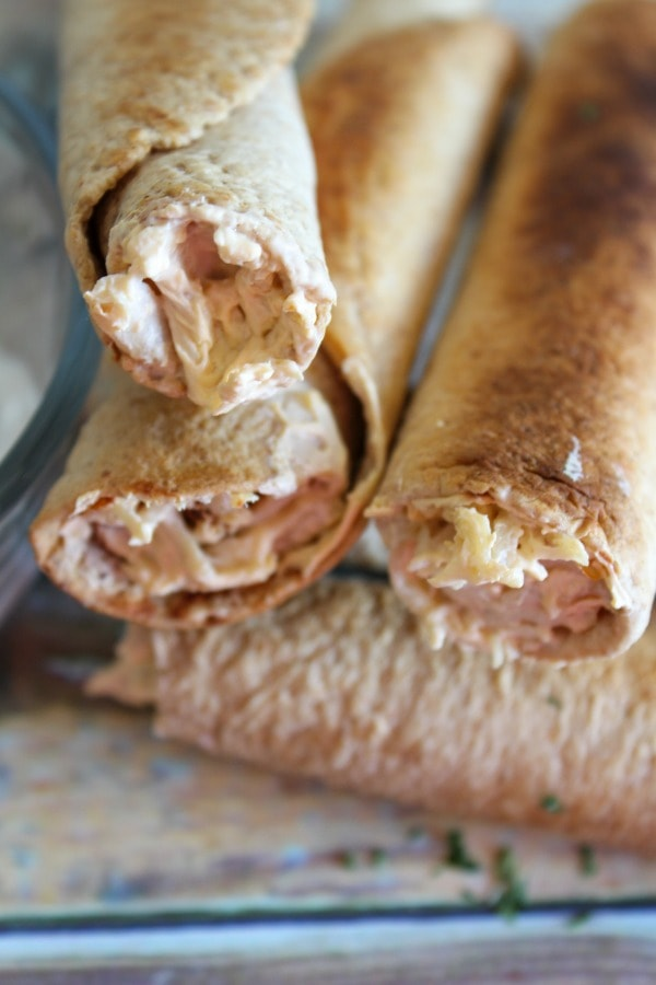 Weight Watchers Buffalo Chicken Taquitos