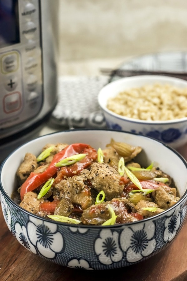 Weight Watchers Instant Pot Black Pepper Chicken