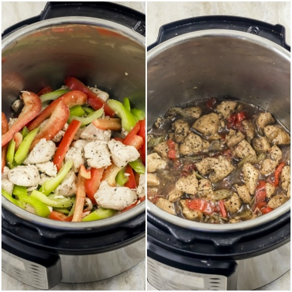 how to make Weight Watchers Instant Pot Black Pepper Chicken
