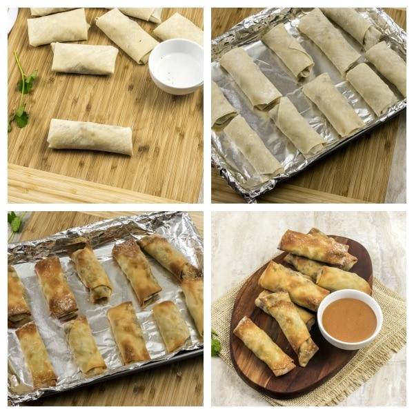 how to make Weight Watchers Mexican Spring Rolls